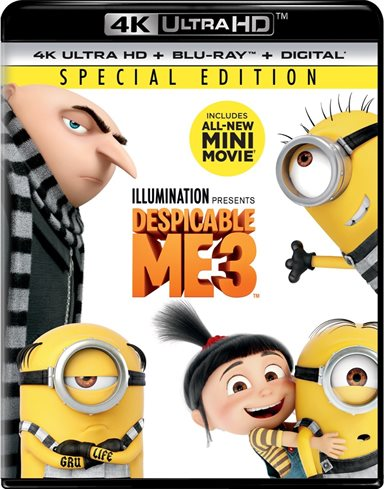 Despicable Me 3 4K Ultra HD Review