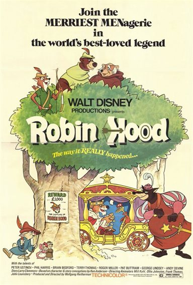 Robin Hood © Walt Disney Pictures. All Rights Reserved.