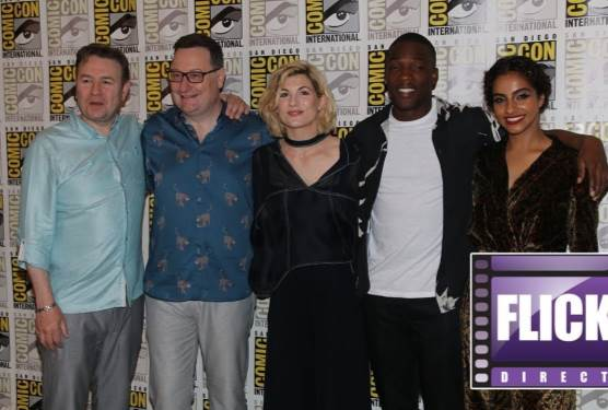 Jodie Whittaker and The Cast of Doctor Who at Comic Con 2018