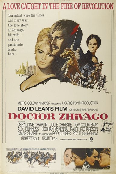 Doctor Zhivago © MGM Studios. All Rights Reserved.