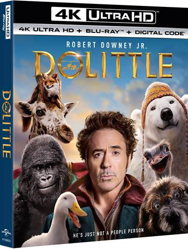 Dolittle 4K Ultra HD Review
