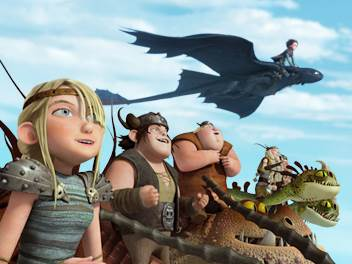 Dragons: Riders of Berk © DreamWorks Animation. All Rights Reserved.