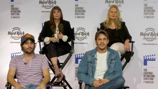 Off-The-Cuff Interview With The Cast of Robert Schwartzman's Dreamland During FLIFF 2016