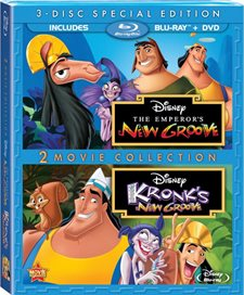 The Emperor's New Groove / Kronk's New Groove: Two-Movie Collection Blu-ray Review