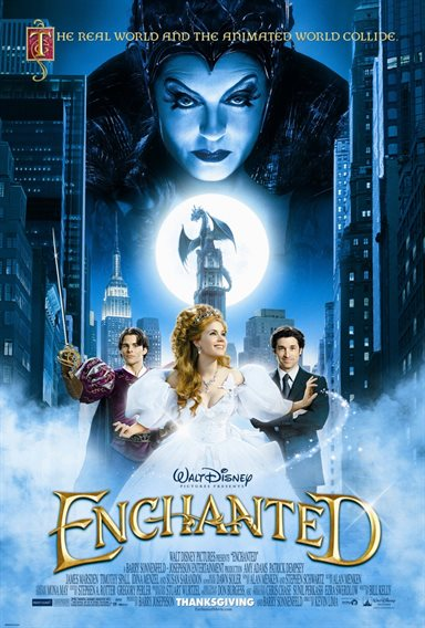 Enchanted © Walt Disney Pictures. All Rights Reserved.