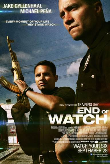 End of Watch Theatrical Review