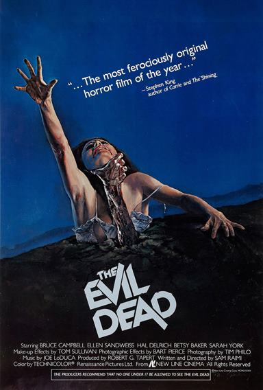 The Evil Dead © New Line Cinema. All Rights Reserved.
