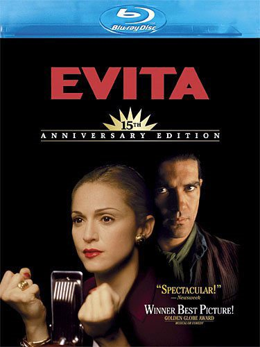 Evita Blu-ray Review