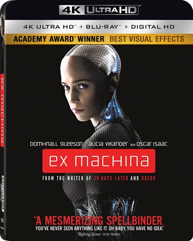 Ex Machina 4K Ultra HD Review