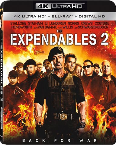 The Expendables 2 4K Ultra HD Review