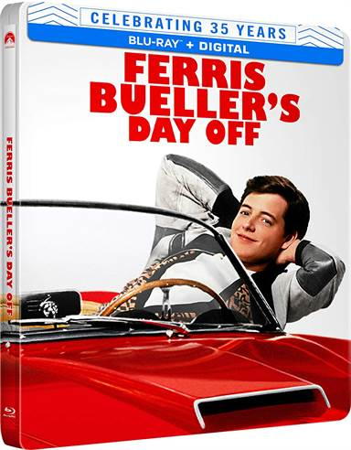 Ferris Bueller's Day Off (35th Anniversary) Steelbook Blu-ray Review