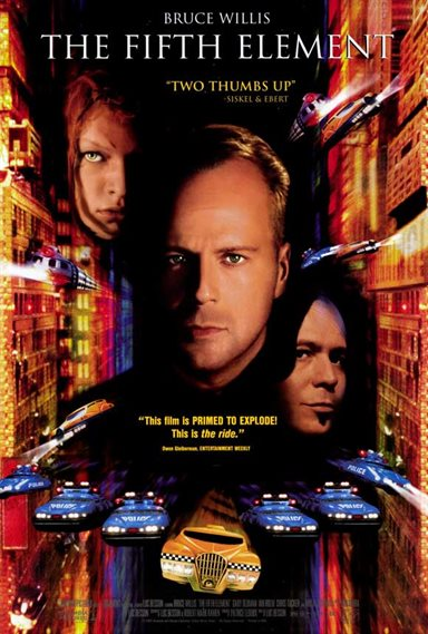 The Fifth Element © Columbia Pictures. All Rights Reserved.