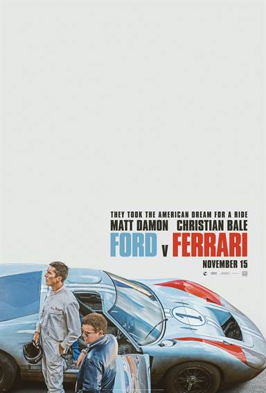 Ford v Ferrari © 20th Century Fox. All Rights Reserved.