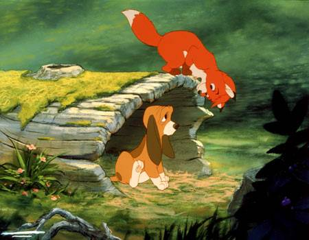 The Fox and The Hound © Walt Disney Pictures. All Rights Reserved.