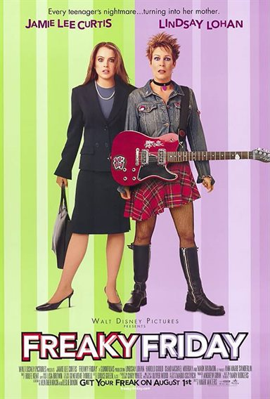 Freaky Friday © Walt Disney Pictures. All Rights Reserved.