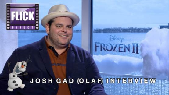 Olaf  (Josh Gad) answers your BURNING Questions About Frozen II