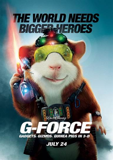 G-Force © Walt Disney Pictures. All Rights Reserved.