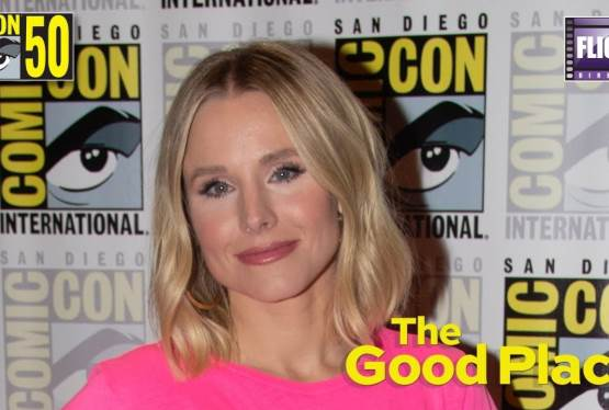 Kristen Bell Has an Emotional Moment About The Good Place AT SDCC