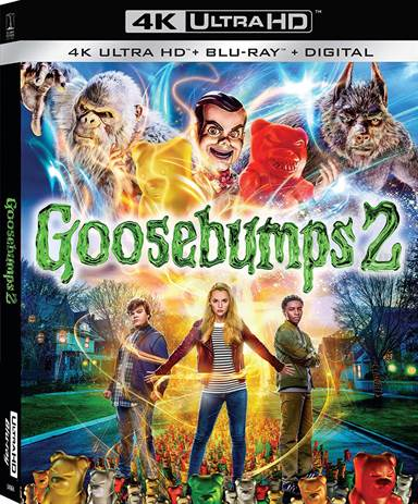 Goosebumps 2: Haunted Halloween 4K Ultra HD Review