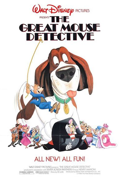 The Great Mouse Detective © Walt Disney Pictures. All Rights Reserved.