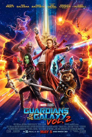 Guardians of the Galaxy Vol. 2 Theatrical Review