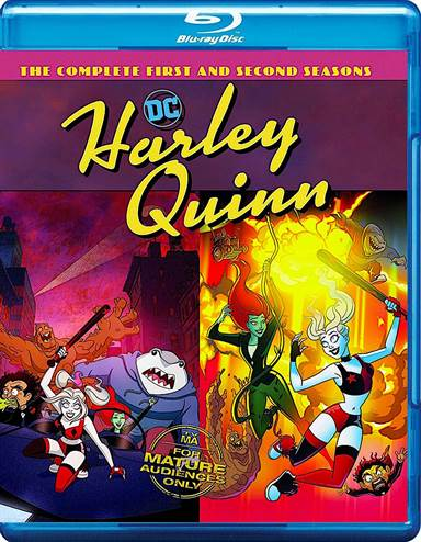 Harley Quinn: The Complete First and Second Seasons Blu-ray Review