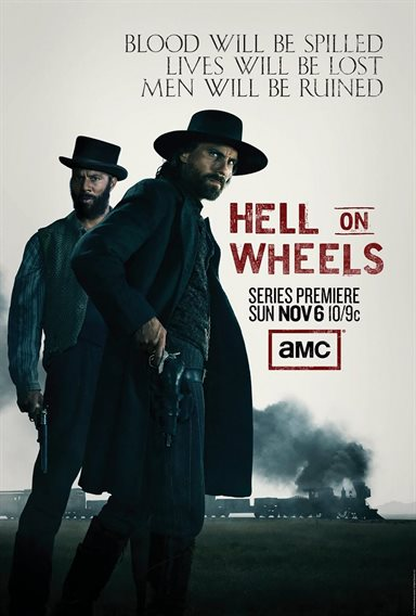 Hell On Wheels - The Complete First Season Blu-ray Review