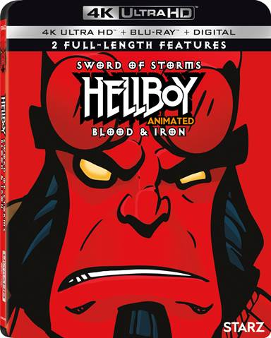 Hellboy Animated: Sword of Storms and Blood & Iron Double Feature 4K Ultra HD Review