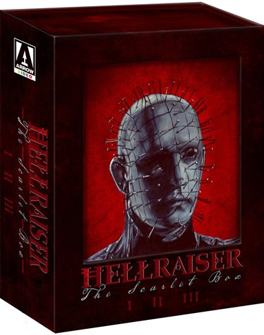 Hellraiser: The Scarlet Box Limited Edition Trilogy Blu-ray Review