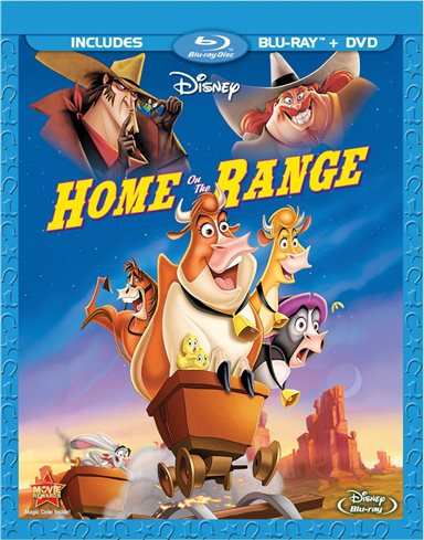 Home On The Range Blu-ray Review