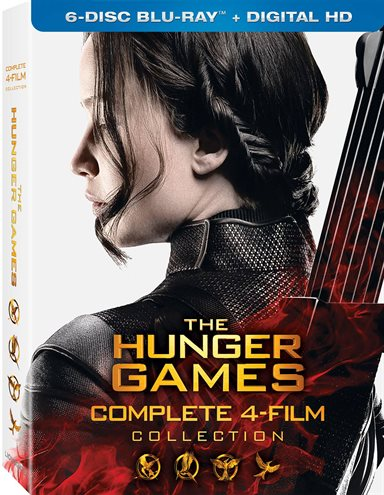 The Hunger Games: Complete 4 Film Collection Blu-ray Review