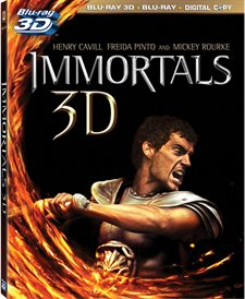 Immortals 3D Blu-ray Review