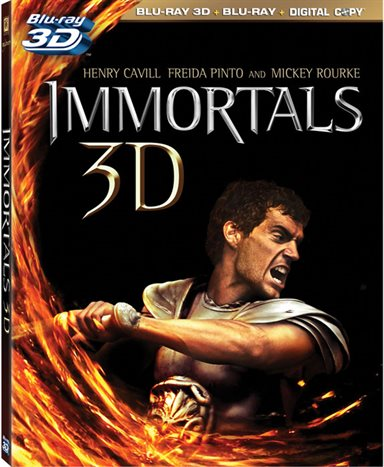 Immortals 3D Blu-ray Review