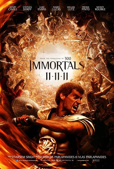 Immortals Theatrical Review