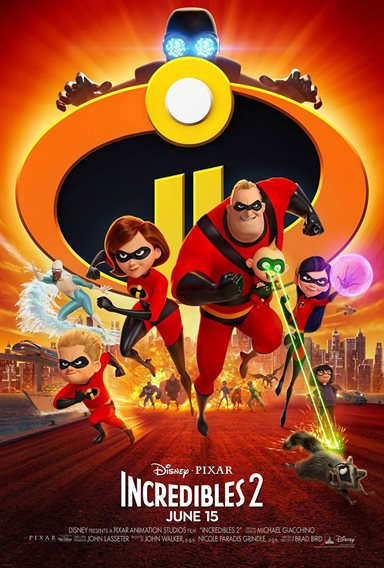 The Incredibles 2 © Walt Disney Pictures. All Rights Reserved.