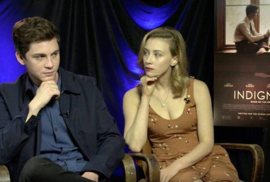 Logan Lerman and Sarah Gadon Discuss Their Upcoming Film, Indignation