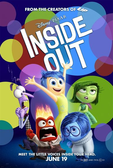 Inside Out © Walt Disney Pictures. All Rights Reserved.