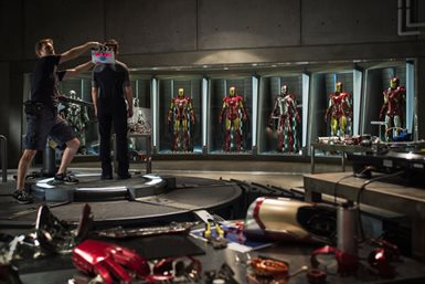 Iron Man 3 © Walt Disney Pictures. All Rights Reserved.