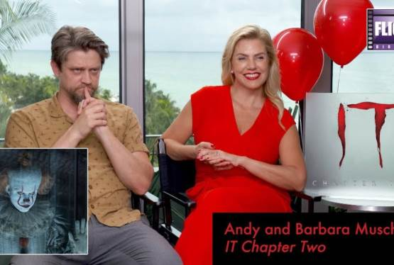 A Talk With IT Chapter Two Director and Producer, Andy and Barbara Muschietti