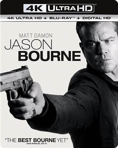 Jason Bourne 4K Ultra HD Review