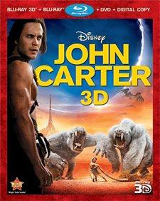 John Carter 3D Blu-ray Review