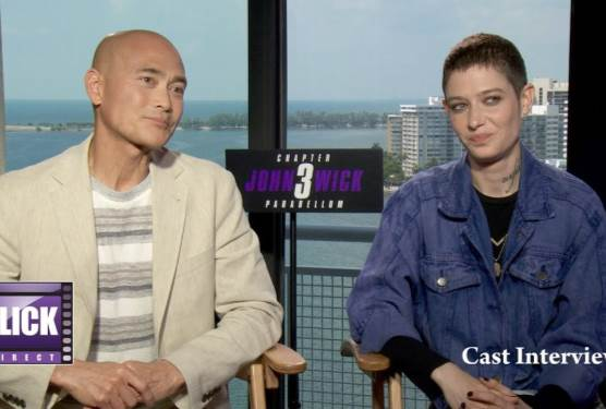 John Wick: Chapter 3's Asia Kate Dillon and Mark Dacascos Speak to FlickDirect