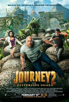 Journey 2: The Mysterious Island Theatrical Review