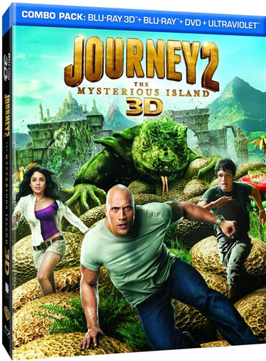 Journey 2: The Mysterious Island Blu-ray Review