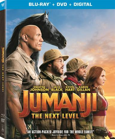 Jumanji: The Next Level Blu-ray Review