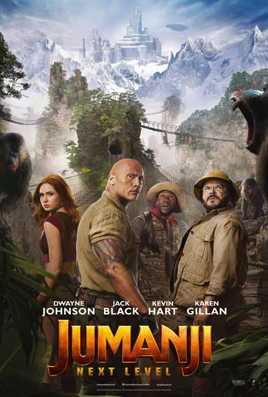 Jumanji: The Next Level © Columbia Pictures. All Rights Reserved.