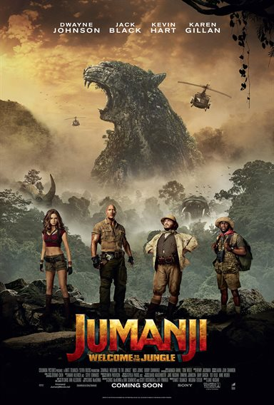 Jumanji: Welcome to the Jungle Theatrical Review