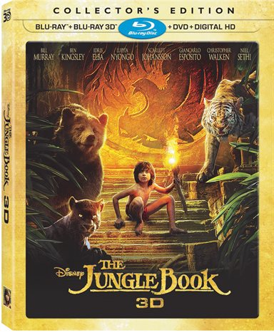 The Jungle Book 3D Collector's Edition Blu-ray Review