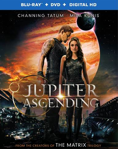 Jupiter Ascending Blu-ray Review