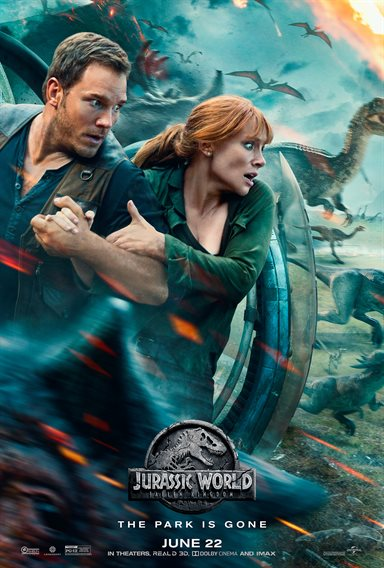 Jurassic World: Fallen Kingdom Theatrical Review